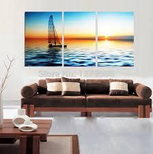 bemalt abstrakten ölgemälde auf leinwand hängen bild für wohnzimmer wand dekor acryl gemälde meer landschaft
