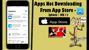 Apps Not Downloading from APPSTORE IPHONE