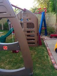 Step2 Playhouses Slides U0026 Climbers step2 playhouse climber with slide u0026 swing set extension baby