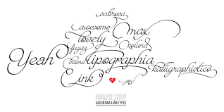 Tagwritten Word Calligraphy MyFonts