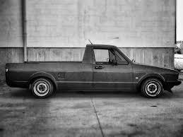 Slammed VW Caddy Mk1. Rabbit Truck | Wolfsburg | Volkswagen Caddy ...
