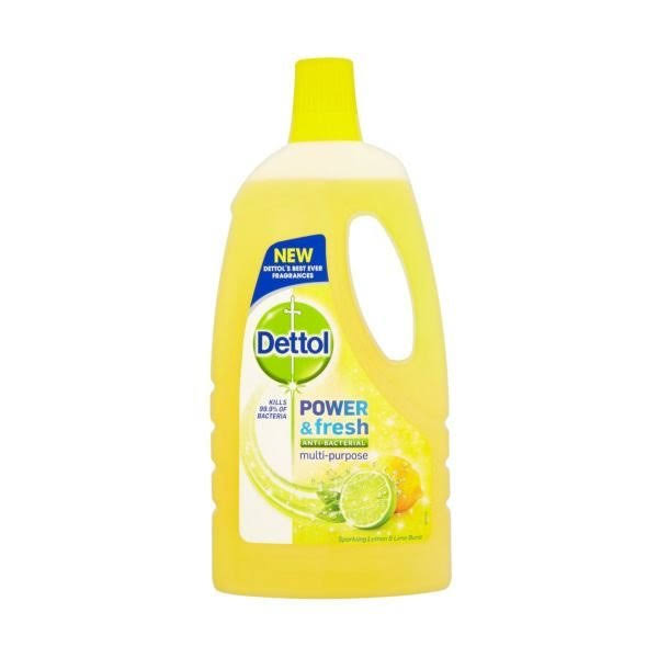 Dettol Power and Fresh Multipurpose Anti-Bacterial - Lemon
