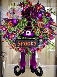 Grandin Road Halloween Wreath by 646 Best Halloween Wreaths Images On Pinterest Diy Deco Mesh