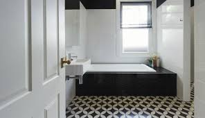 Premium Black And White Bathroom Tiles In A Small Shower Floor Tile ... Beautiful Bathroom Tiles Patterned Ceramic Tile Bath Floor Designs Ideas Glass Material Innovation Aricherlife Home Decor Black Shower Wall Design Toilet For Modern For Small Bathrooms Online 11 Simple Ways To Make A Small Bathroom Look Bigger Designed Cool Really Tile Design Ideas Bathrooms Tuttofamigliainfo 30 Backsplash And 5 Victorian Plumbing Brown Flooring And Grey Log Cabin Redesign The New Way