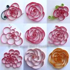 Paper Cutting Flower Designs Step By Quilling Flowers And
