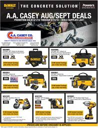 Dewalt Tile Saw Water Pump by A A Casey Company
