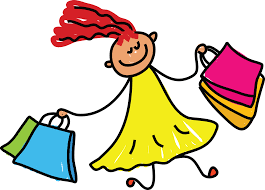 Clothes Shopping Clipart