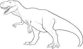 Download Coloring Pages Dinosaur Free Printable For Kids