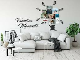 wandtattoo familienmomente fotobaum aufkleber wohnzimmer