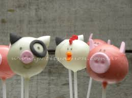 Cake Pops Animales de la Granja ideas cumple