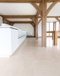 Crema Castello Polished Limestone Tiles