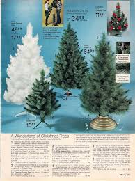 1980 JC Penney Catalog Artificial Christmas Trees