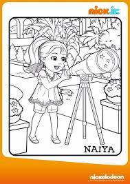 Colora Naiya Disegna Con Dora Friends Into The City Su Nick Jr