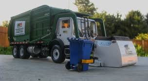 First Gear Garbage Truck Side Loader.First Gear Front Load Trash ...