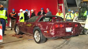 Corvette Museum Sinkhole Cars Lost by National Corvette Museum Sinkhole Recovery