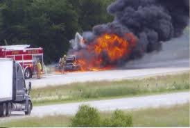 Truck Fire On I-94 Stops Traffic - The Newsleader