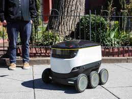 Robots Deliver Takeout Orders On The Streets Of Washington, D.C. ...
