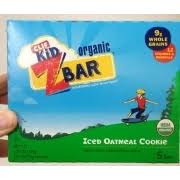 Clif Kid Z Bar Iced Oatmeal Cookie