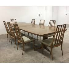 Stunning Mid Century John Widdicomb Dining Table With 8 Chairs Excellent Condition Showing Minor Wear