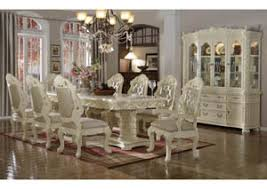 Madrid Dining Table W 6 Side Chairs 2 Arm
