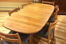 Midcentury Furniture Seattle Mid Century Danish Teak Dining Table Chairs In Modern Wa