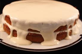 A Healthier Carrot Applesauce Spice Cake with a Tofu Cream Cheese