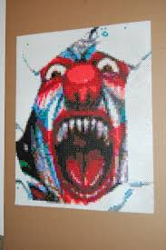 Halloween Perler Bead Templates by 95 Best Horror Images On Pinterest Hama Beads Backpacks And