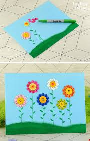 Sample Arts And Crafts For Preschool Easy Canvas Art Ideas On Toddler Images
