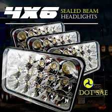 TURBOSII DOT Approved 4X6 LED Headlight Assemblies Hi/Lo Sealed Beam ... 881998 Chevy Truck 8piece Black Halo Headlights Set Wxenon Bulbs Billet Front End Dress Up Kit With 7 Single Round 1973 Lumen Ck Pickup 1964 Projector Led Dna Motoring For 0306 Silveradoavalanche 4pc Headlight 5 Inch 1958 Wiring Diagrams Schematics 03 04 05 06 Silverado 1500 Tail Lights Parking Light 9499 Suburban Blazer Headlamps Light Blue Trucks Elegant Chevrolet Colorado Crew Cab Photo 9902 1 Piece Grille Cversion Dash In 2017 Are Awesome The Drive 072014 Tahoe Avalanche Tron Style Neon Tube