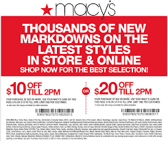 Macys Printable Coupons March 2018 | Download Them Or Print
