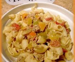 recette de pate au thon pâtes au thon et aux poivrons recette de pâtes au thon et aux