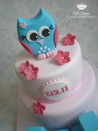 Owl Cake Topper Is Handmade From Fondant Mixed With CM Flickr