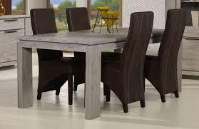table de salle à manger contemporaine chêne gris iberia salle à
