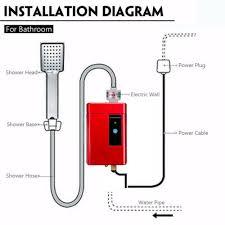 110v 220v elektrische tankless warmwasser durchlauferhitzer