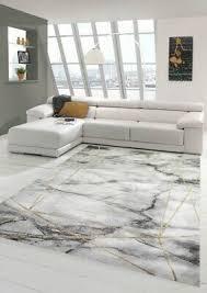 teppich wohnzimmer designerteppich marmor optik mit