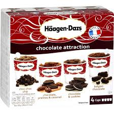 glaces chocolate attraction haagen dazs haagen dazs les 3 pots