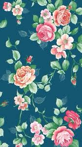 Floral background iPhone 5s Wallpaper Download