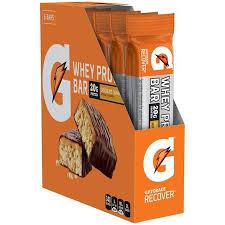 India Gatorade Recover Chocolate Caramel Whey Protein Bars 6 Count 169 Oz