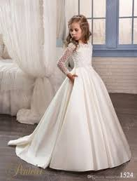 In training to be a bride some day Lovely flower girl sweet dress