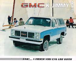 1985 GMC TRUCK K JIMMY Brochure / Catalog W/ Color Chart: K-1500 ... 67 72 Gmc Jimmy 4wd Nostalgic Commercial Ads Pinterest Gm 1976 High Sierra Live Learn Laugh At Yourself Gmc Truck 1995 Favorite Image 5 Autostrach 1985 Transmission Swap Bm 700r4 Truckin 1955 100 The Rat Hot Rod Network Car Brochures 1983 Chevrolet And 1999 Lifted 4x4 Solid Axle Offroad Crawler Trail Mud 1991 Sle Id 12877 Jimmy Bos0007a Aa Cater 1969 K5 Blazer Jacked Up Youtube 1987 Overview Cargurus