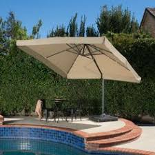 Cantilever Patio Umbrellas Sams Club by 10 Ft X 10 Ft Square Cantilever Umbrella With Protective Cover