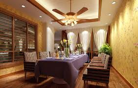 Ceiling Fan For Dining Room Fans Stunning Decor