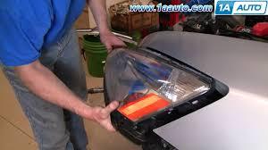 how to install replace headlight honda accord 03 07 1aauto