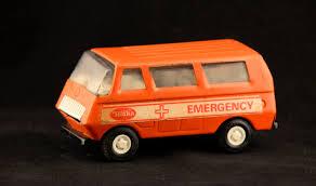 Tonka Emergency EMS Vehicle Orange Tonka Truck Tonka Truck | Etsy