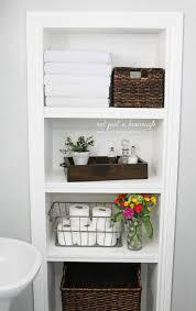 best 25 bathroom storage shelves ideas on pinterest decorative