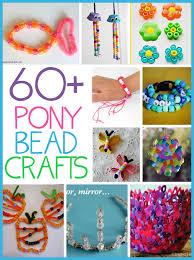 60 Pony Bead Crafts