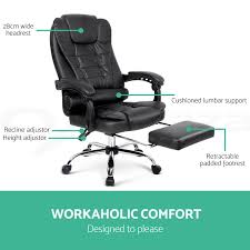 Details About Artiss Executive Office Chair Computer Desk Chairs Recliner  Seating Leather Maharlika Office Chair Home Leather Designed Recling Swivel High Back Deco Alessio Chairs Executive Low Recliner The 14 Best Of 2019 Gear Patrol Teknik Ambassador Faux Cozy Desk For Exciting Room Happybuy With Footrest Pu Ergonomic Adjustable Armchair Computer Napping Double Layer Padding Recline Grey Fabric Office Chairs About The Most Wellknown Modern Cheap Find Us 38135 36 Offspecial Offer Computer Chair Home Headrest Staff Skin Comfort Boss High Back Recling Fniture Rotationin Racing Gaming