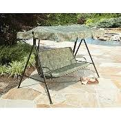 Sears Canada Patio Swing by Canopy Flat Or Curved Roof