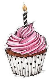 Drawn cake illustration 7