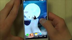Halloween Live Wallpapers Android by Halloween Night Live Wallpaper For Android Phones And Tablets